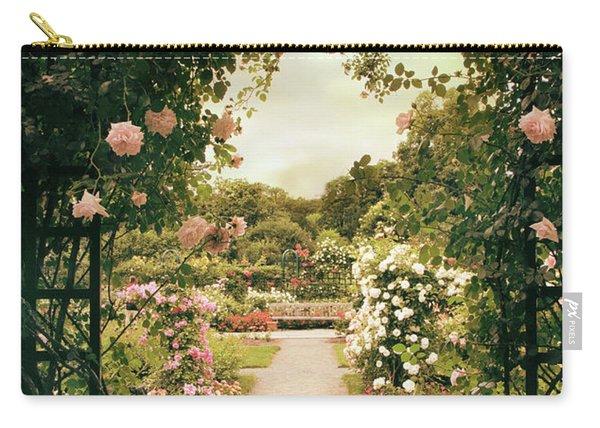 Rose Garden Grace Carry-all Pouch