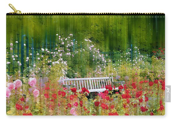 Rose Garden Impressions Carry-all Pouch