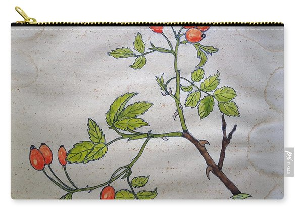 Rose Hip Carry-all Pouch