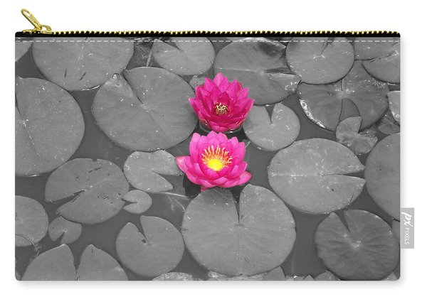 Rose Of The Water Carry-all Pouch