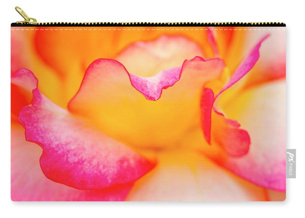 Rose Petal Curves Carry-all Pouch