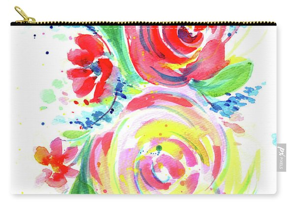 Rose Red Rose Yellow  Carry-all Pouch