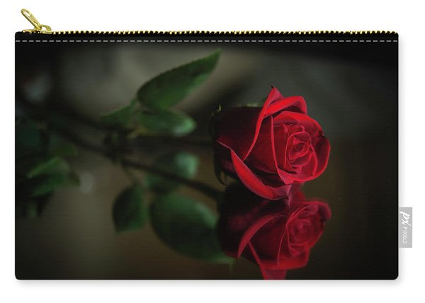 Rose Reflected Carry-all Pouch