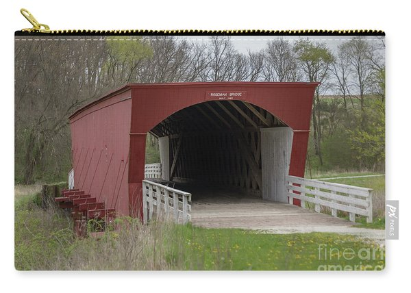 Roseman Covered Bridge - Madison County - Iowa Carry-all Pouch