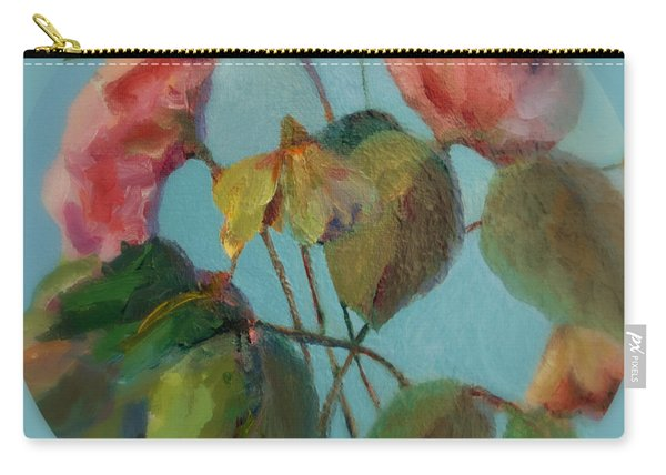 Roses And Wildflowers Carry-all Pouch