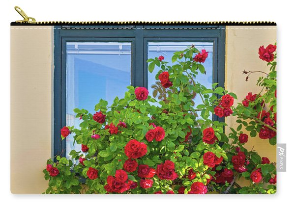 Roses Decorating A House Carry-all Pouch