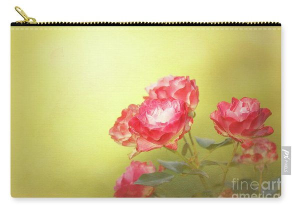 Roses From The Garden Carry-all Pouch