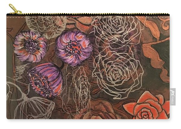 Roses In Time Carry-all Pouch