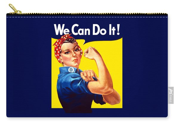 Rosie The Rivetor Carry-all Pouch