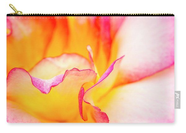 Rosy Curves Carry-all Pouch