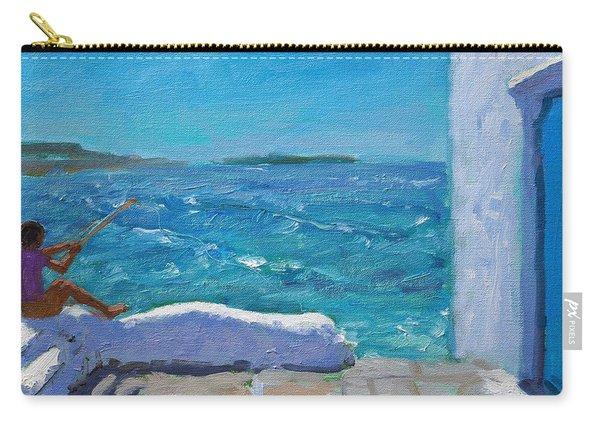 Rough Seas, Mykonos Carry-all Pouch