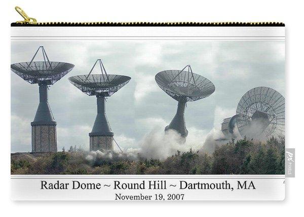 Round Hill Radar Demolition Carry-all Pouch