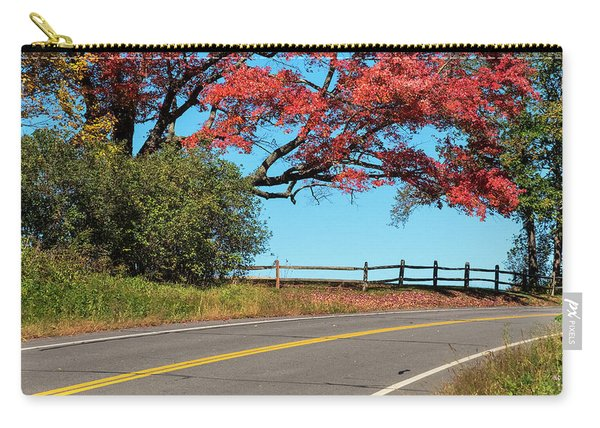 Carry-all Pouch featuring the photograph Route 5 Color by Tom Singleton