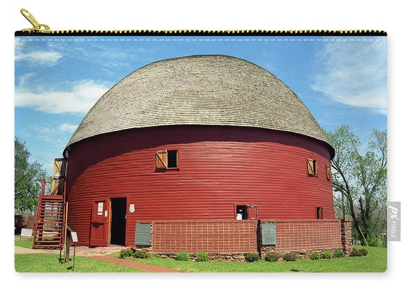 Route 66 - Round Barn Carry-all Pouch