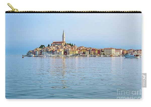 Rovinj In The Early Morning Fog, Istria, Croatia Carry-all Pouch