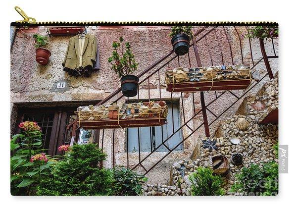 Rovinj Old Town Courtyard, Rovinj Croatia Carry-all Pouch