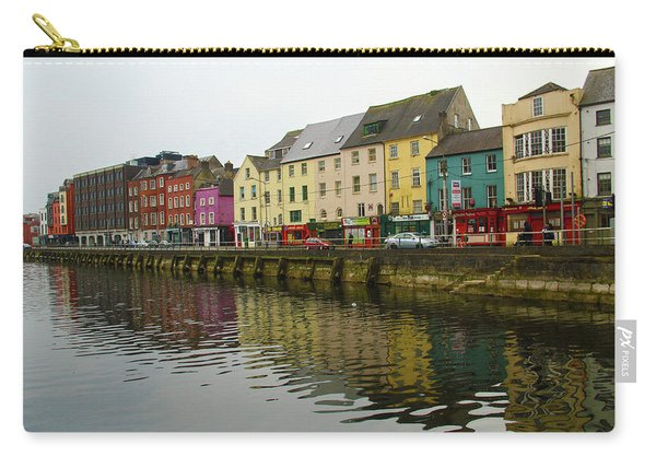 Row Homes On The River Lee, Cork, Ireland Carry-all Pouch
