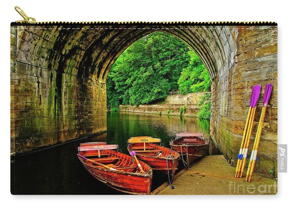 Rowing Boats In Durham City Carry-all Pouch