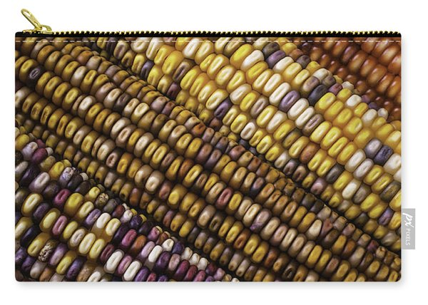 Rows Of Indian Corn Carry-all Pouch