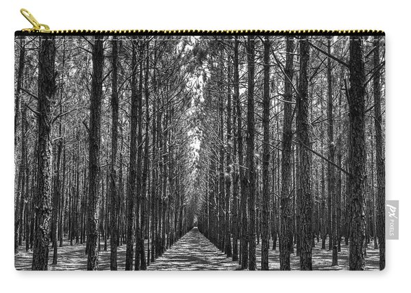 Rows Of Pines Vertical Carry-all Pouch
