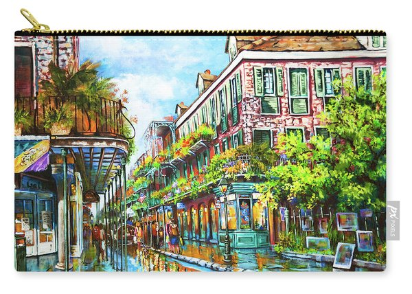 Royal At Pere Antoine Alley, New Orleans French Quarter Carry-all Pouch