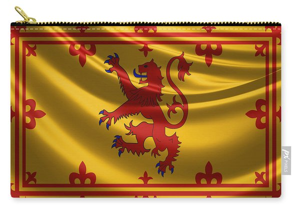 Royal Banner Of The Royal Arms Of Scotland Carry-all Pouch