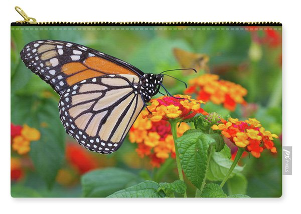 Royal Butterfly Carry-all Pouch