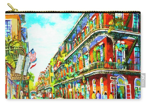 Royal Carriage - New Orleans French Quarter Carry-all Pouch