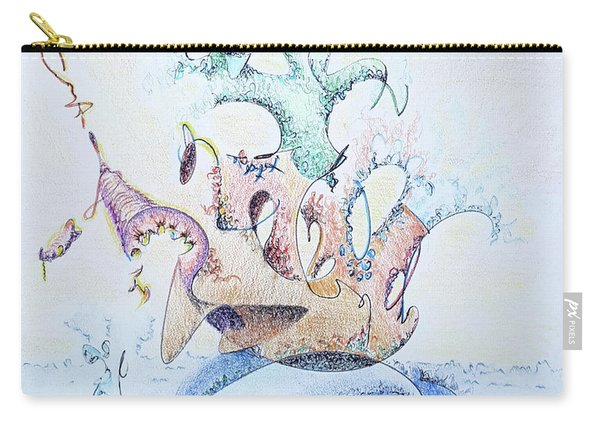 Royal Fireworks Barge Carry-all Pouch