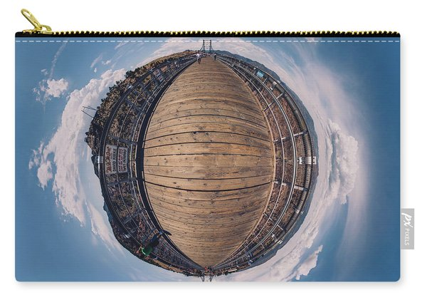 Royal Gorge Bridge Tiny Planet Carry-all Pouch