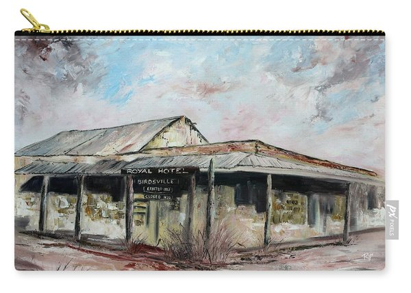 Royal Hotel, Birdsville Carry-all Pouch
