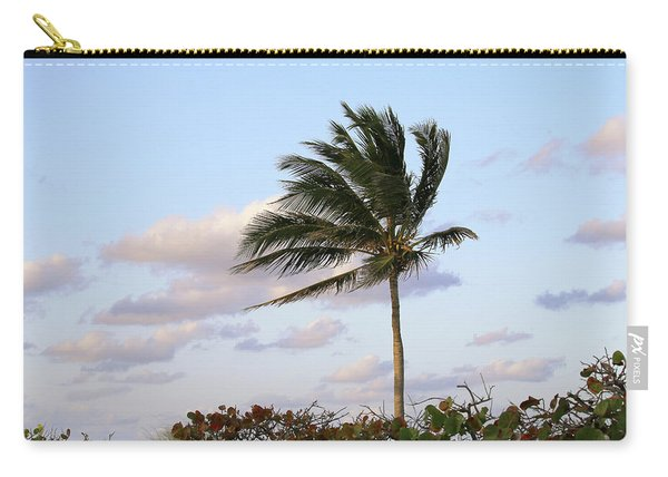 Royal Palm Tree Carry-all Pouch