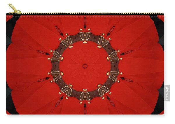 Royal Red Carry-all Pouch