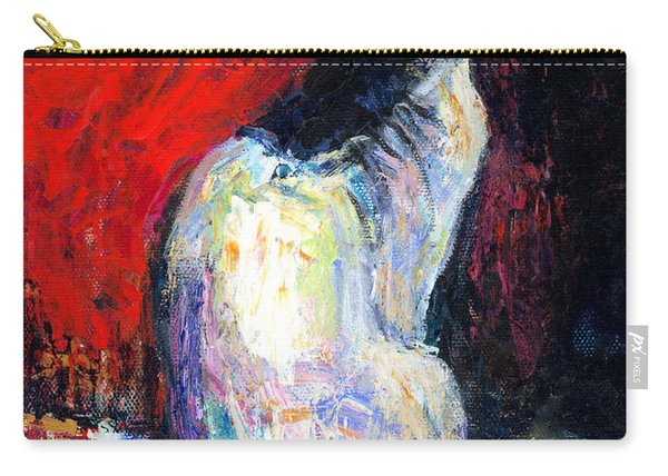 Royal Sphynx Cat Painting Carry-all Pouch