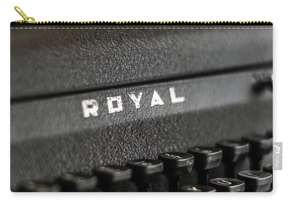 Royal Typewriter #19 Carry-all Pouch