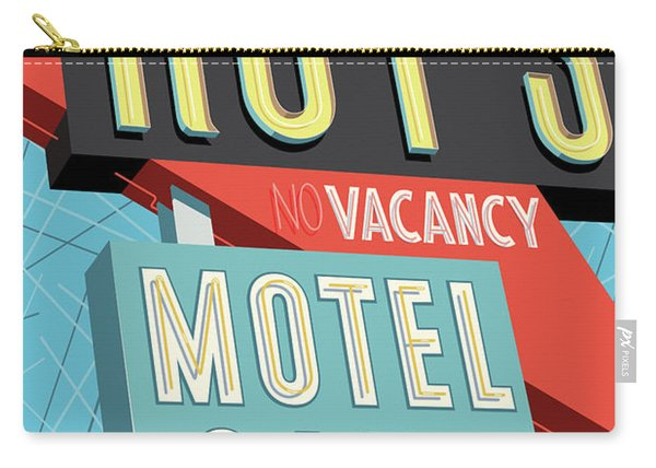 Roy's Motel Cafe Pop Art Carry-all Pouch