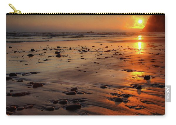 Ruby Beach Sunset Carry-all Pouch