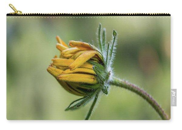Rudbeckia Fuzzy Bud Carry-all Pouch
