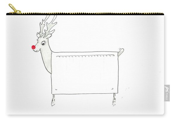 Rudolf The Red Nosed Radiator Carry-all Pouch