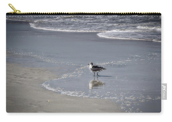 Carry-all Pouch featuring the photograph Ruffled Feathers by Michael Colgate