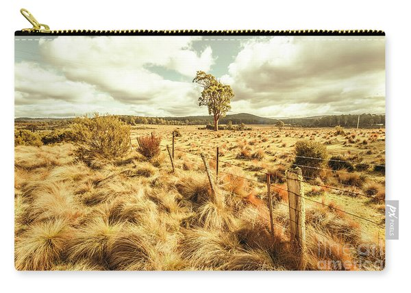 Rugged Australian Pastures Carry-all Pouch