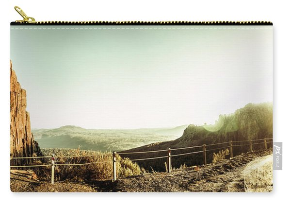 Rugged Mountain Trail Carry-all Pouch