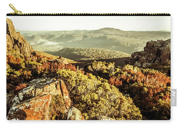 Rugged Mountaintops To Regional Valleys Carry-all Pouch