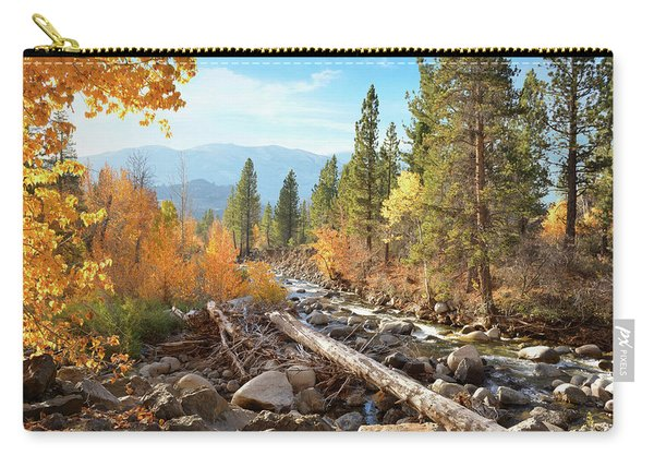 Rugged Sierra Beauty Carry-all Pouch