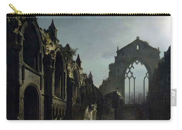 Ruins Of Holyrood Chapel Carry-all Pouch