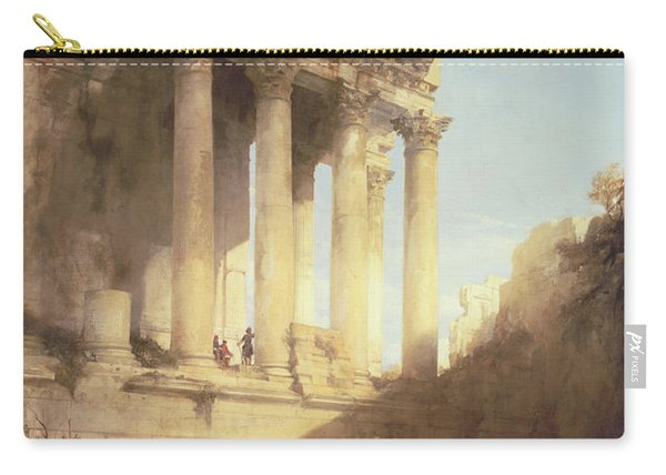 Ruins Of The Temple Of Bacchus Carry-all Pouch