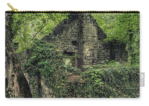 Carry-all Pouch featuring the photograph Run Down Mill by Nick Bywater