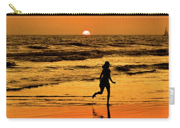 Run To The Sun Carry-all Pouch