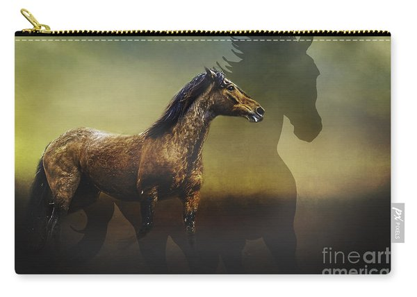 Running Free Carry-all Pouch
