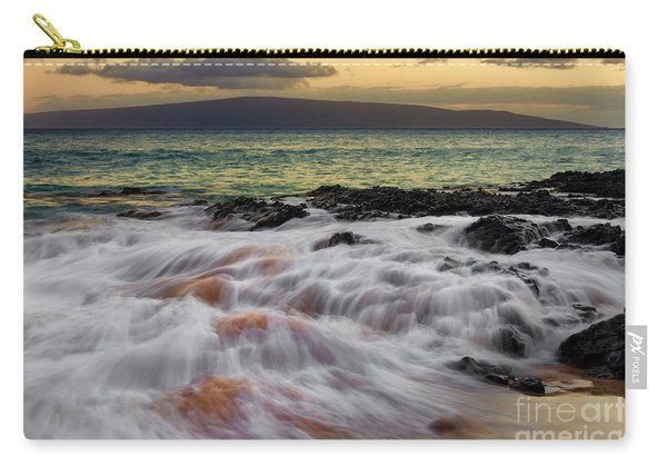 Running Wave At Keawakapu Beach Carry-all Pouch